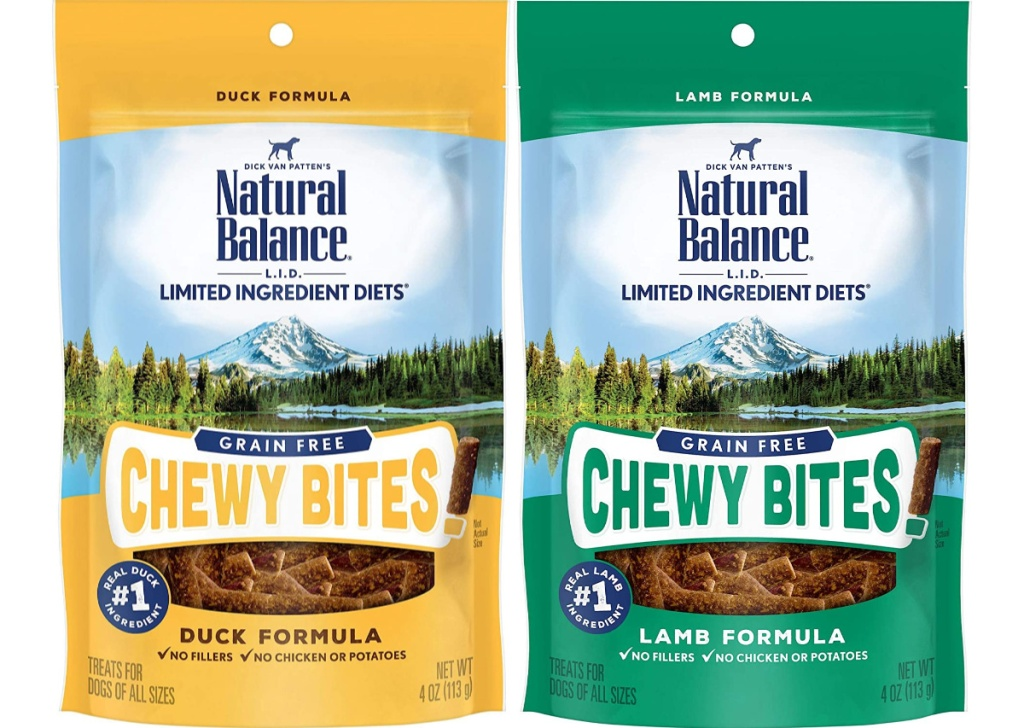 Natural Balance L.I.D. Limited Ingredient Diets Chewy Bites Dog Treats
