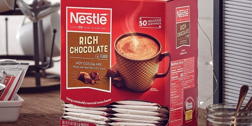 Nestle Hot Cocoa 50-Pack Only $5.62 Shipped on Amazon