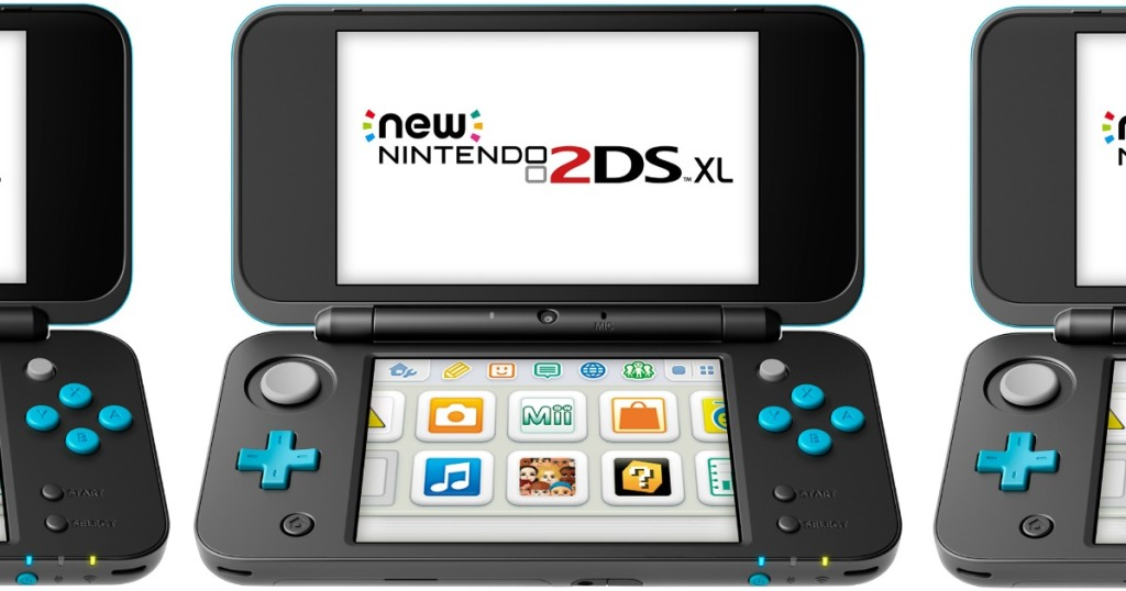 2DS system in black and turquoise