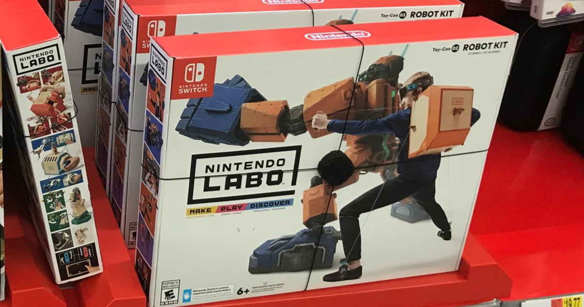 Nintendo Labo Kit Bundle Only 26 99 Shipped On Costco Com Hip2save Pick up the nintendo switch lite for less with this deal, which includes a 32gb switch lite and an ac adapter. nintendo labo kit bundle only 26 99