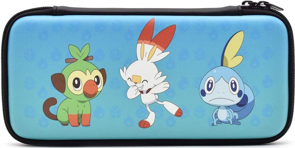 Nintendo Switch case with Pokemon on them