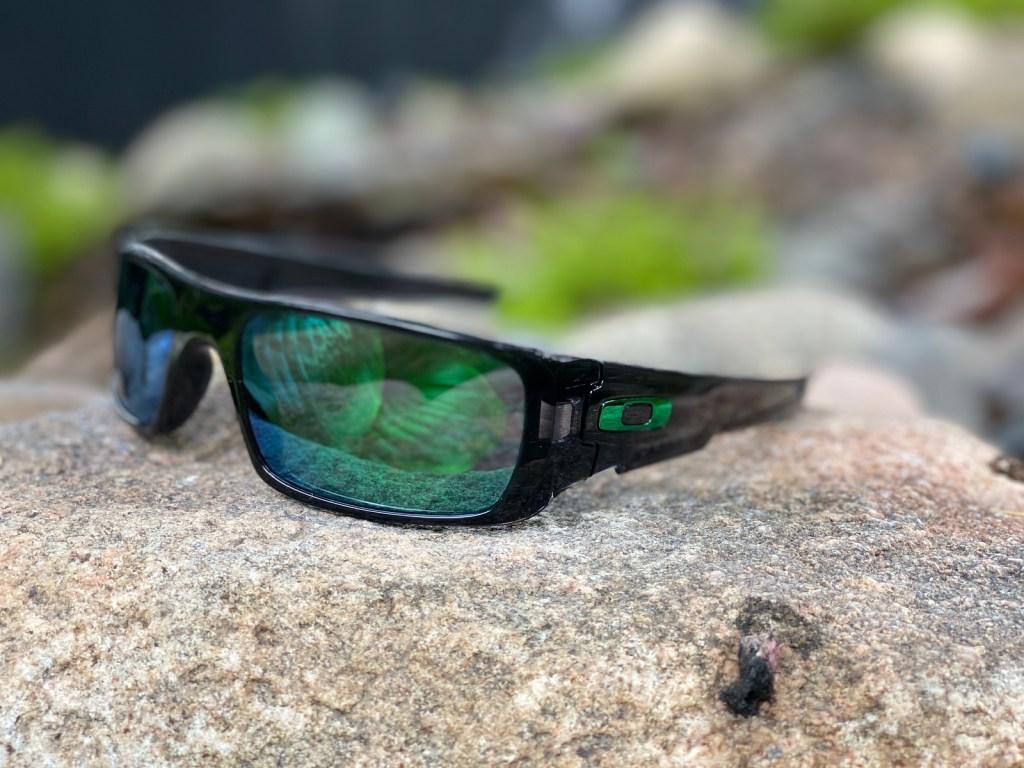 Oakley Crankshaft Sunglasses on stone