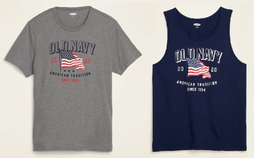 Old Navy Americana tees for men