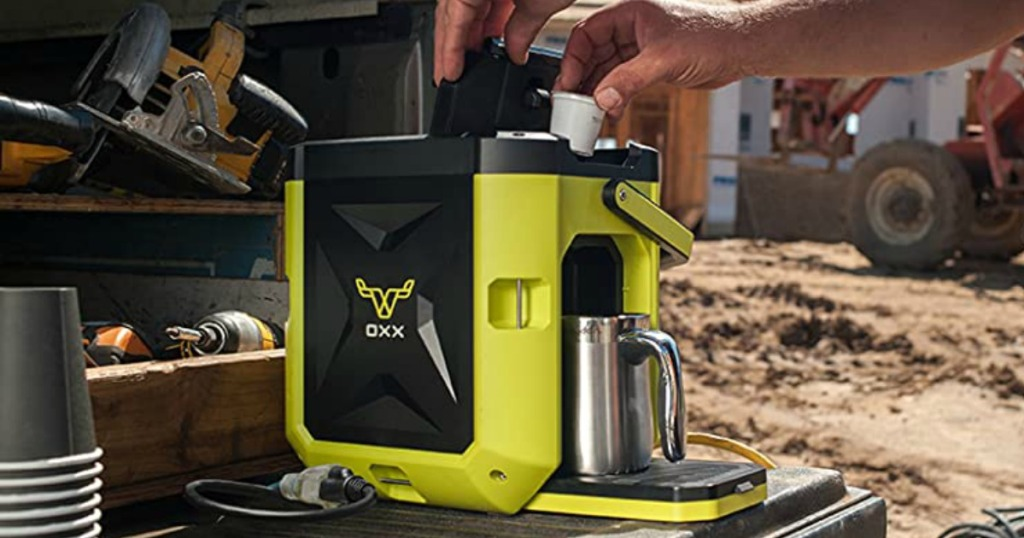 Oxx CoffeeBoxx in Lime