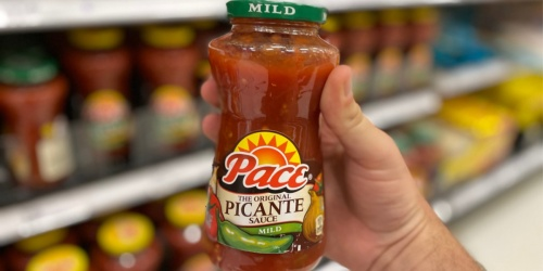 Pace Salsas Only 99¢ Each After Cash Back at Target