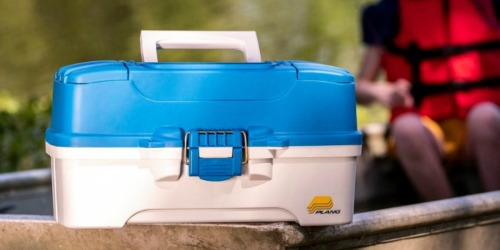 Plano 2-Tray Tackle Box Only $9.74 at Academy Sports + Outdoors