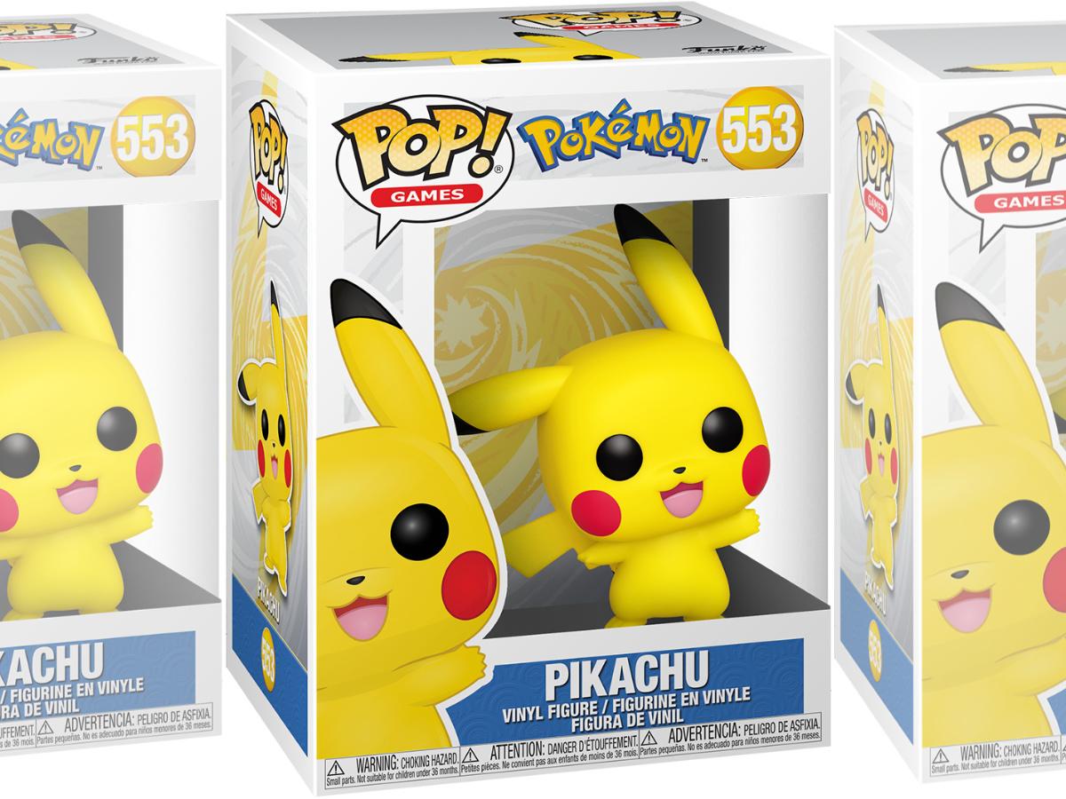 Pokemon Pikachu Funko Pop! in box