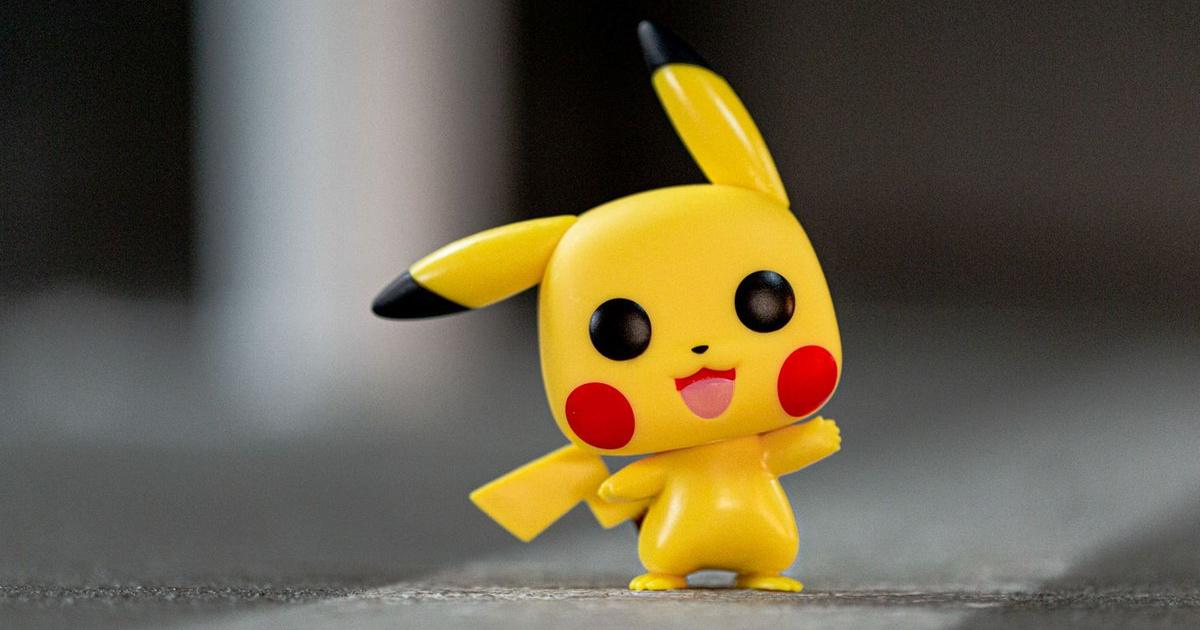 Pokemon Pikachu Funko Pop! on concrete floor
