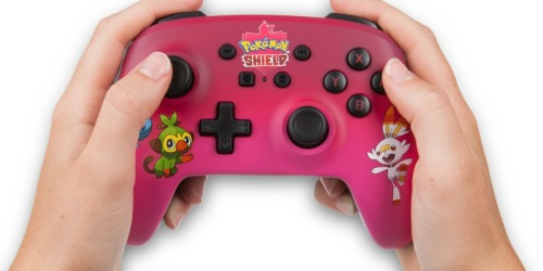 Pokemon Shield Wireless Nintendo Switch Controller Only $29.99 on BestBuy.com (Regularly $50)