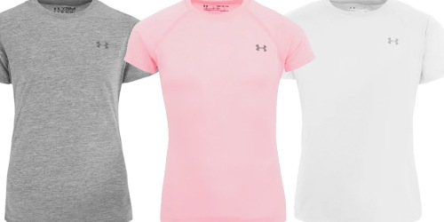 Under Armour Girls T-Shirt Just $4.95 (Regularly $20)