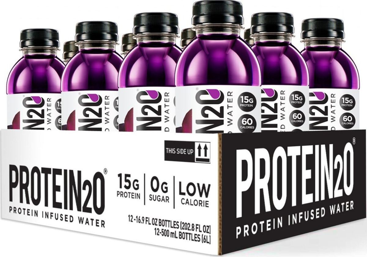 12 pack of protein infused water