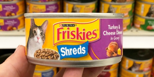 Purina Friskies Wet Cat Food 32-Count Variety Pack Only $13 Shipped on Amazon