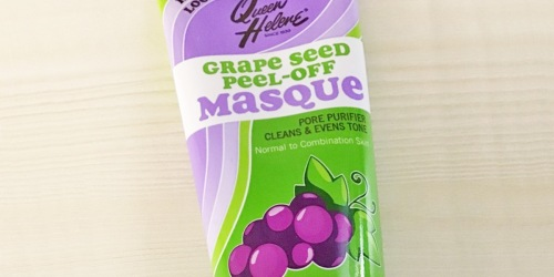Queen Helene Grape Seed Peel-Off Facial Masque Just $2.95 on Amazon