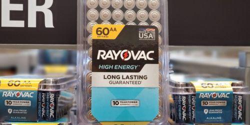 50% Off Rayovac Batteries on Lowes.com | AA, AAA & 9V