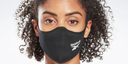 Reebok Face Mask 3-Packs Only $20 Shipped | Just $6.67 Each