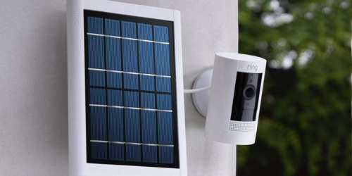Ring Security Camera 3-Pack w/ Solar Panels & Ring Assist+ Only $284.99 Shipped (Regularly $447)