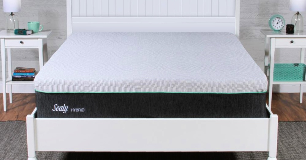 Sealy Spring & Memory Medium-Firm Foam Hybrid Mattress in a Box