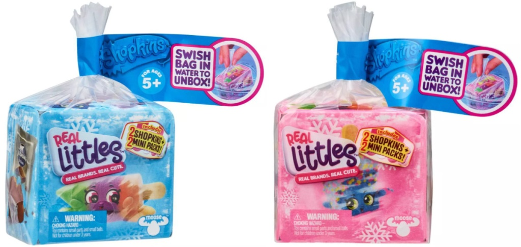 2 Shopkins Real Little Minis Boxes