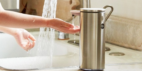 Simplehuman Touch-Free Soap Dispensers 2-Pack Only $79.99 Shipped for Costco Members