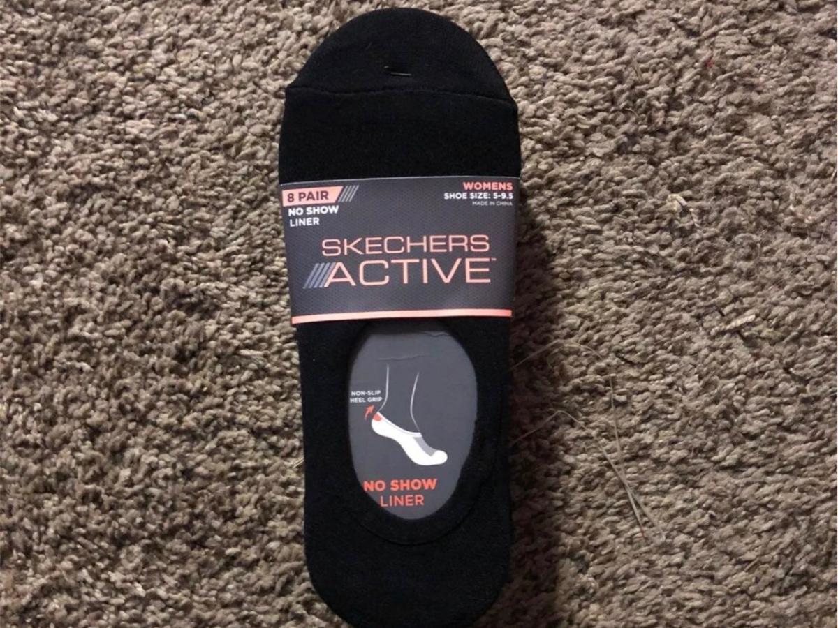 Skechers Women's No Show Liner Socks 8