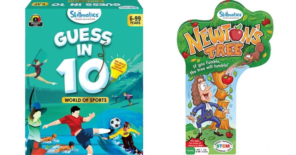 two Skillmatics Games