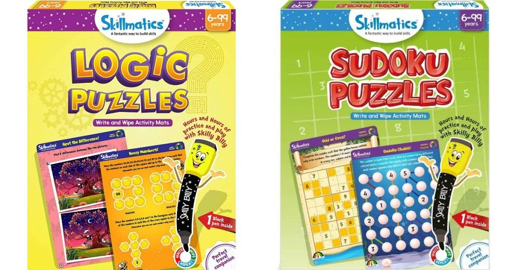 two Skillmatics Puzzles