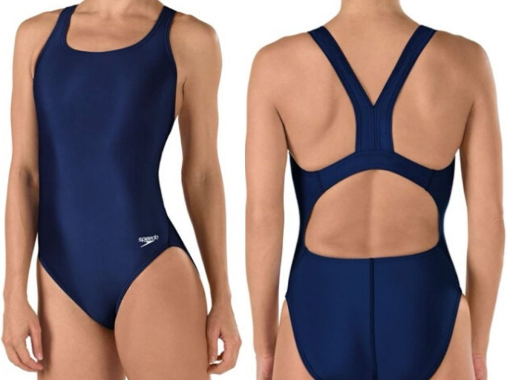 speedo girls bathing suit