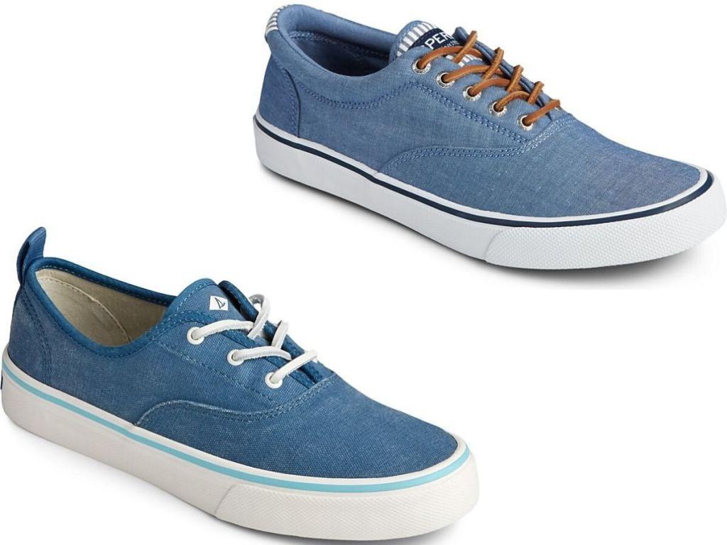 Women's & Men's right foot canvas sneaker