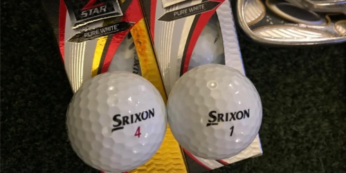 Srixon Golf Balls 12-Pack Only $19.99 on Amazon (Regularly $40)
