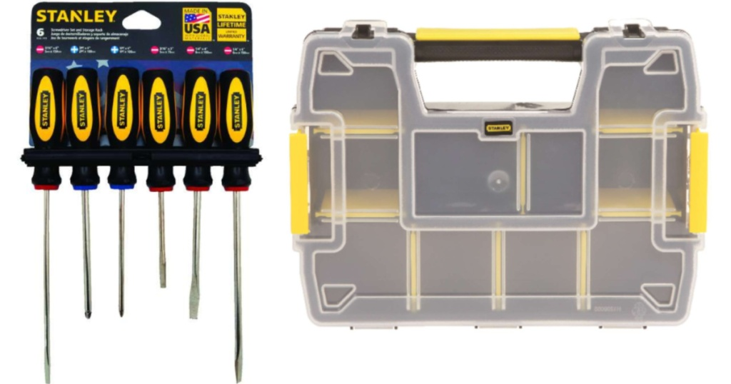 Stanley Screwdriver set and storage container