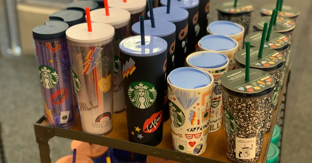 Starbucks Cups for Back to school