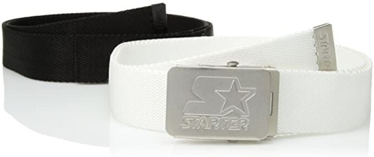 2 corded belts with a buckle