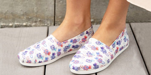 Up to 65% Off TOMS Shoes for the Whole Family
