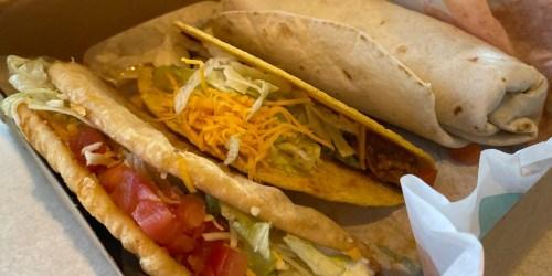 FREE Taco Bell Chalupa Cravings Box (Regularly $5)