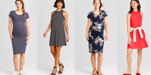 Women's Dresses Only $10 at Target (Regularly up to $25) | Maternity & Plus Size Styles Included