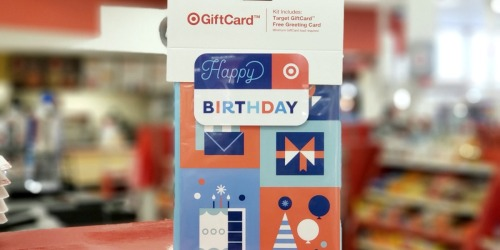 FREE Greeting Card or Gift Bag w/ Target Gift Card Purchase | In-Store & Online