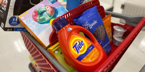 Best Target Deals 6/7-6/13 | Save Big on Clothing, Pool Floats, Laundry Detergent & More