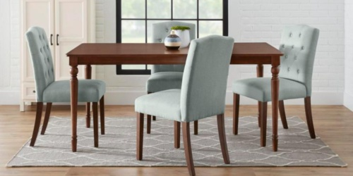 Upholstered Dining Chair Sets from $109.99 Shipped on HomeDepot.com (Regularly $159+)