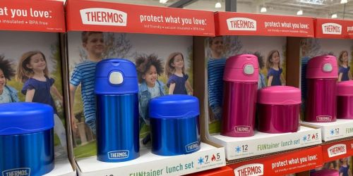 Thermos FUNtainer Sets Only $12.99 at Costco