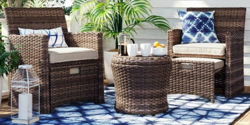 Threshold 5-Piece Wicker Patio Set Only $275 Shipped on Target.com (Regularly $550)