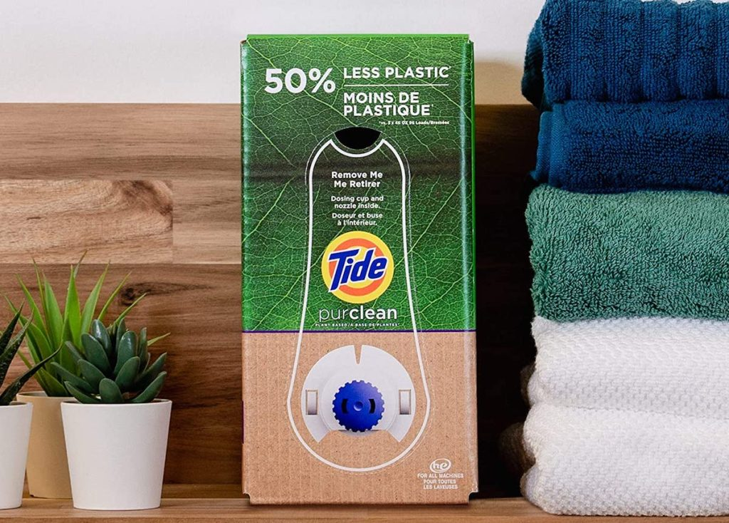 box of Tide laundry detergent