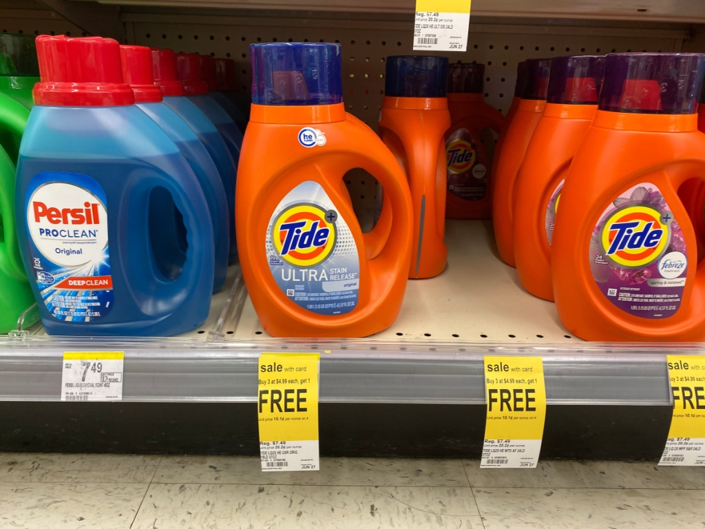 Tide Ultra on shelf