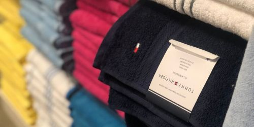 Tommy Hilfiger Bath Towels Only $4.99 on Macy's.com (Regularly $16)