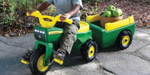 John Deere Ride-On Tractor & Wagon Just $75.99 Shipped on Amazon (Regularly $100)