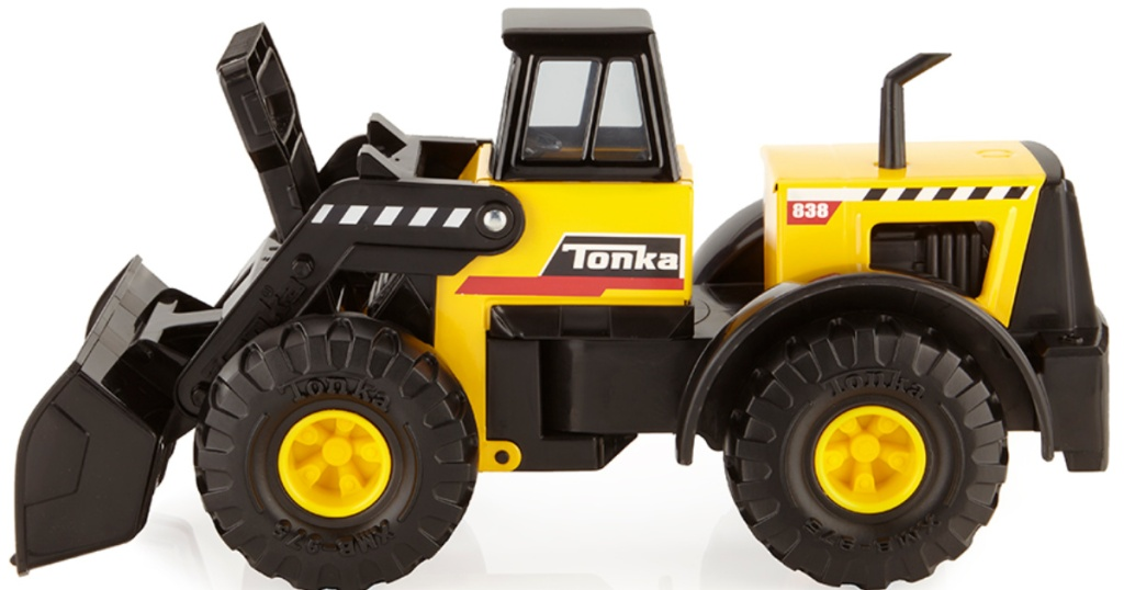 tonka classic steel toys front loader