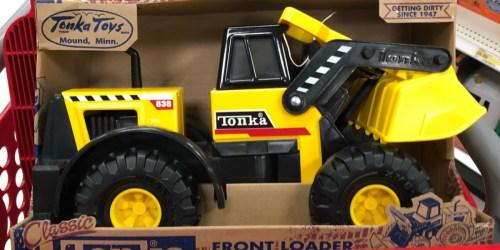 Tonka Classics Steel Front Loader Only $23.88 on Walmart.com