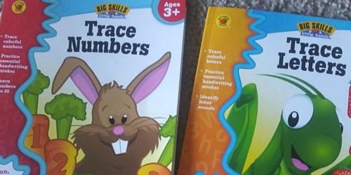 Children's Tracing Workbooks Only $1.99 on Amazon (Regularly $4)