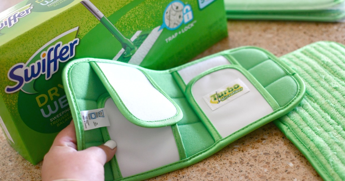 Turbo reusable swiffer pads from amazon