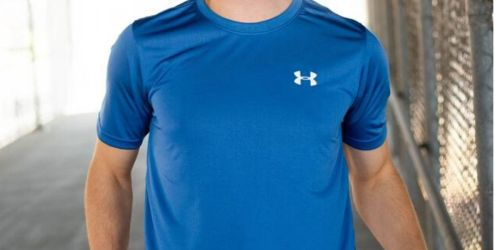 Under Armour Men's Performance T-Shirts Only $6.50 (Regularly $25)