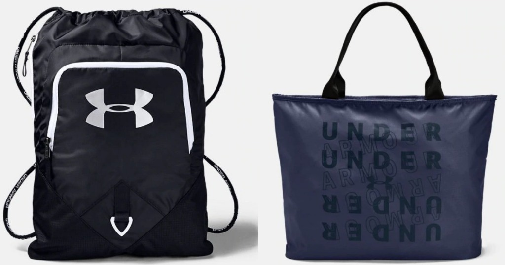 two Under Armour bags